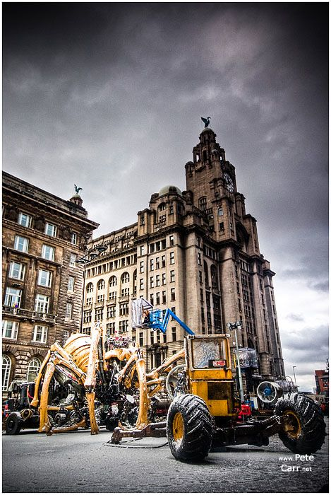 La Machine in Liverpool