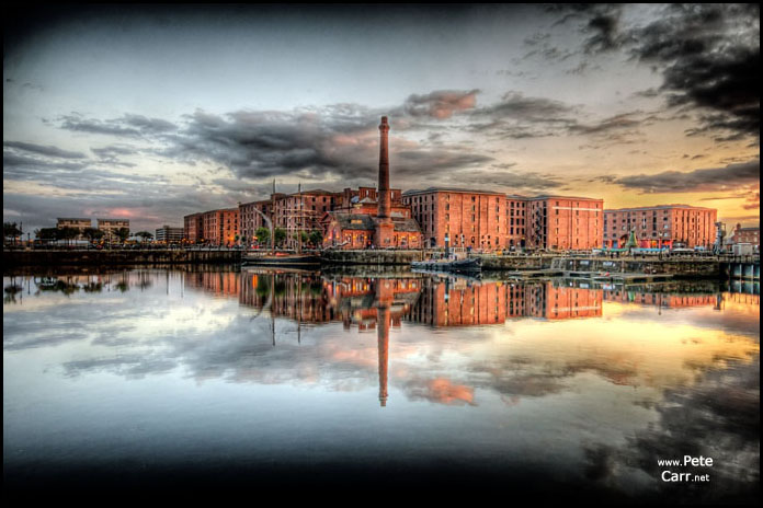 Albert Docks Reflected
