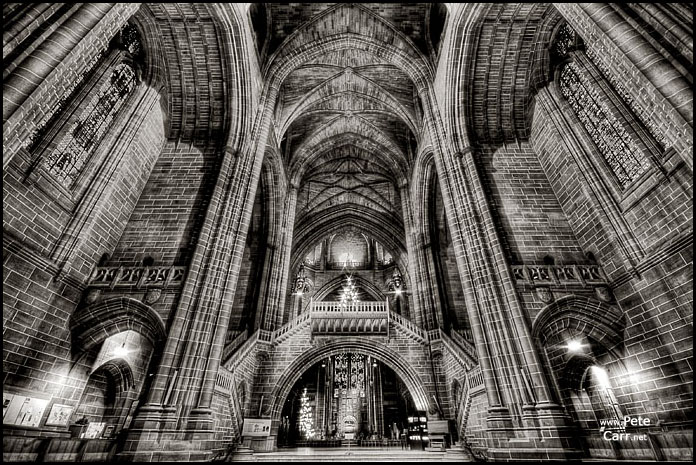 Inside Liverpool's Anglican Cathedral