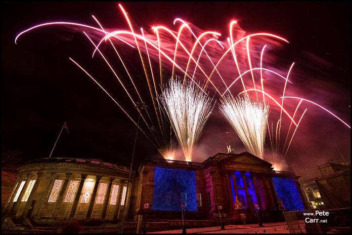 Liverpool New Year Fireworks 2007