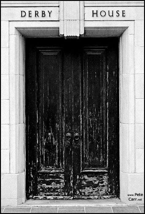 Derby House Doorway