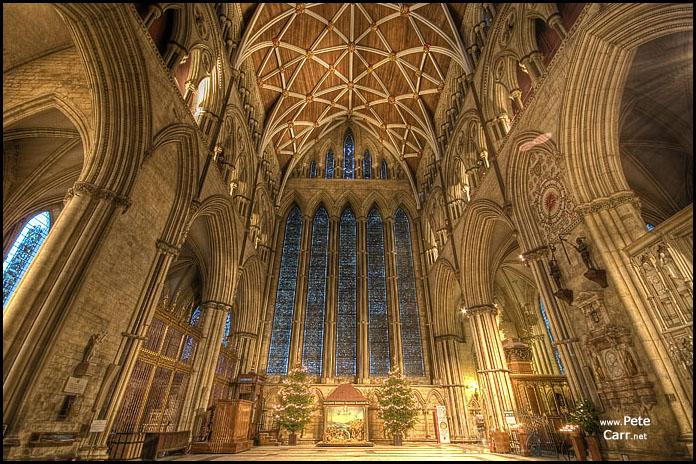 Inside York Minster #3