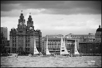Clipper Round the World Race launch in Liverpool