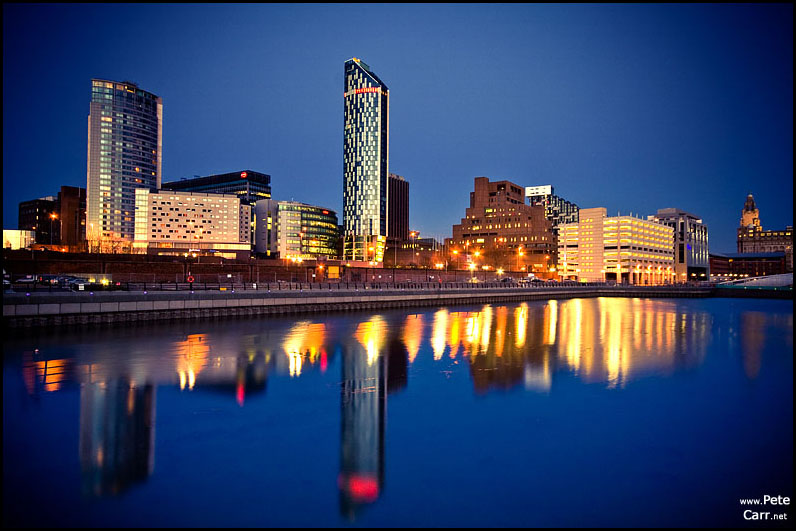 Liverpool from Princes Dock