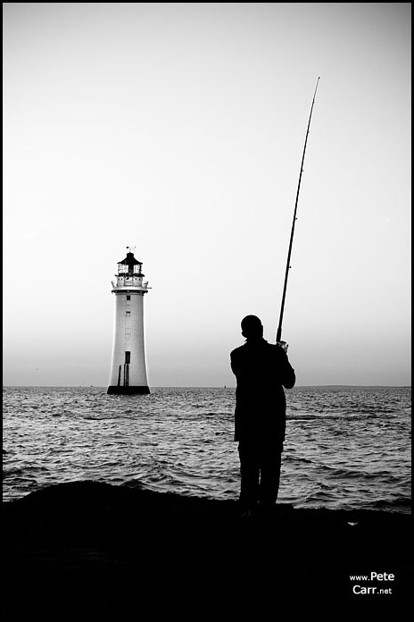 Fishing at New Brighton