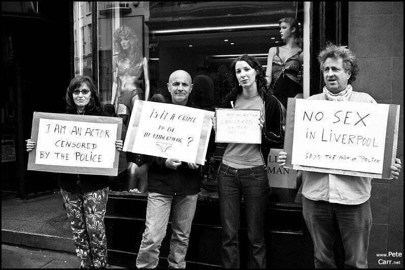 Street Performer Protest