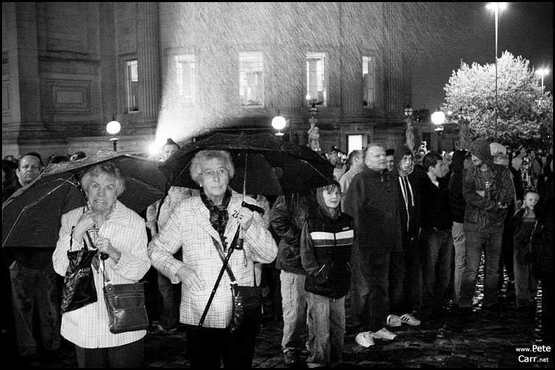 Wet Spectators