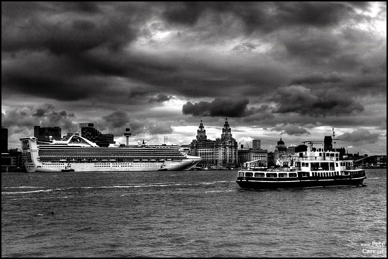Grand Princess in Liverpool II