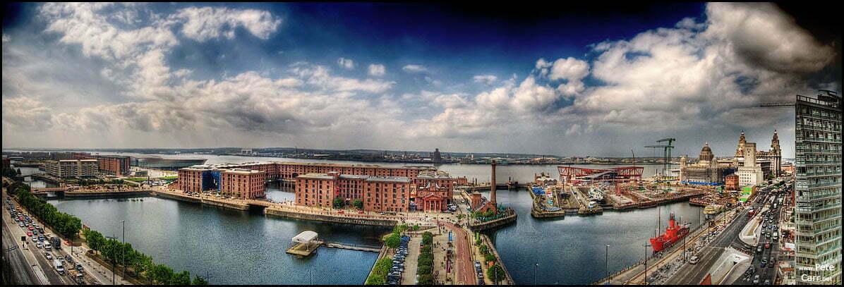 Albert Dock Panoramic