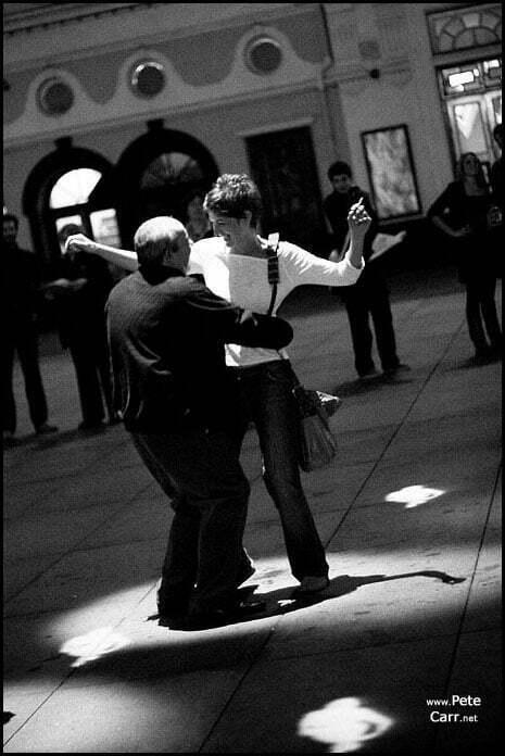 Dancing in Williamson Square - 3