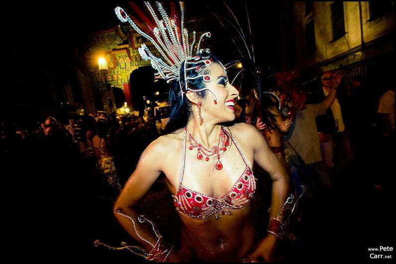 Liverpool city centre carnival