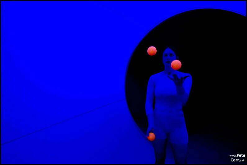 Blue girl in Colourdome