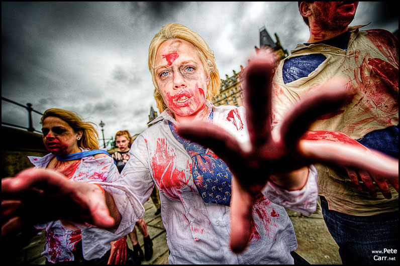 Zombies in Liverpool!