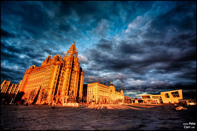 3 Graces at sunset