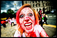 Zombie Walk in Manchester
