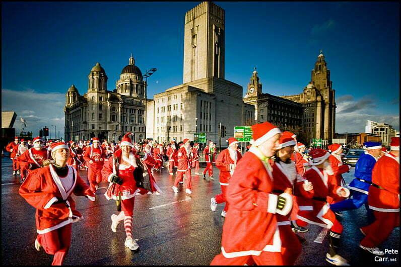 Liverpool Santa Dash 09