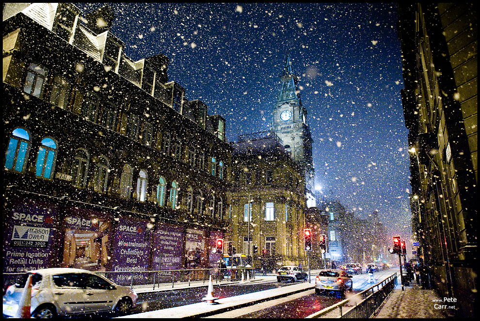 A very snowy Dale Street