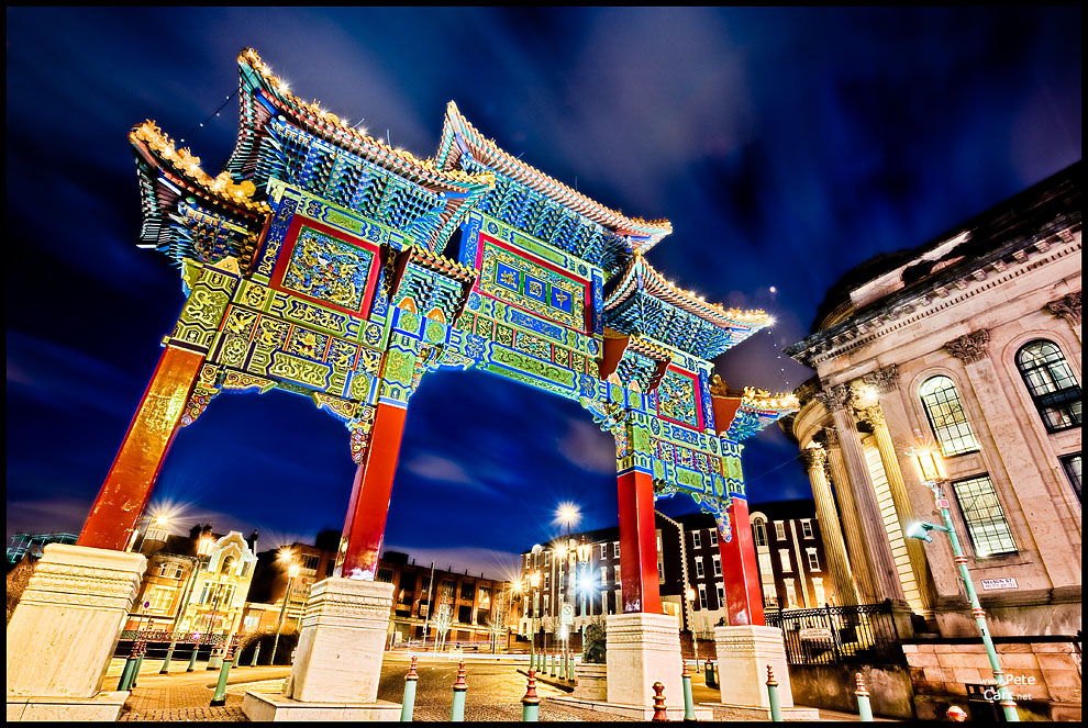 Chinese Archway in Liverpool