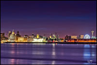 Liverpool skyline and a wheel
