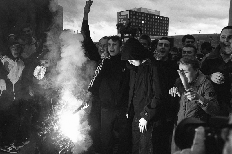 Thatcher party in Liverpool.