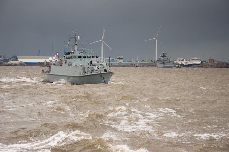 Battle of the Atlantic prepartions in Liverpool