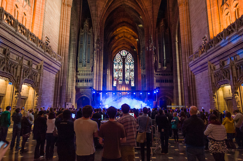 Wave Machines at the Anglican Cathedral