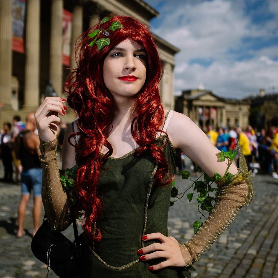 People at Liverpool Pride March