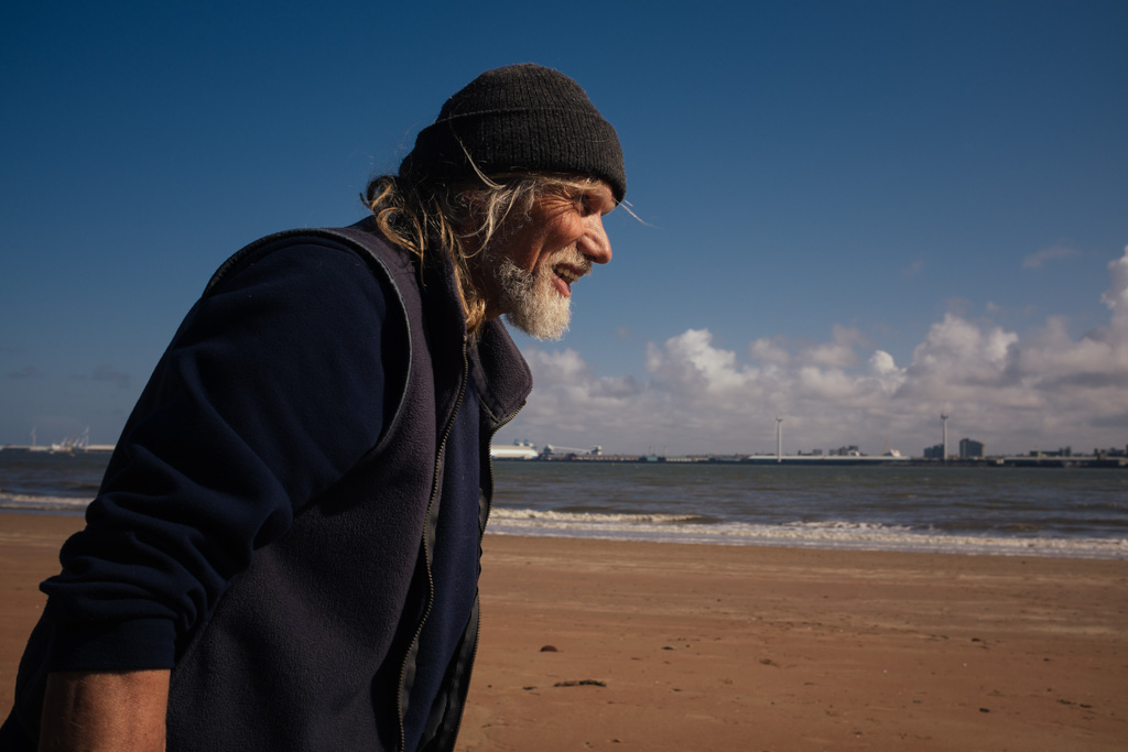 Pirate ship builder, Frank Lund