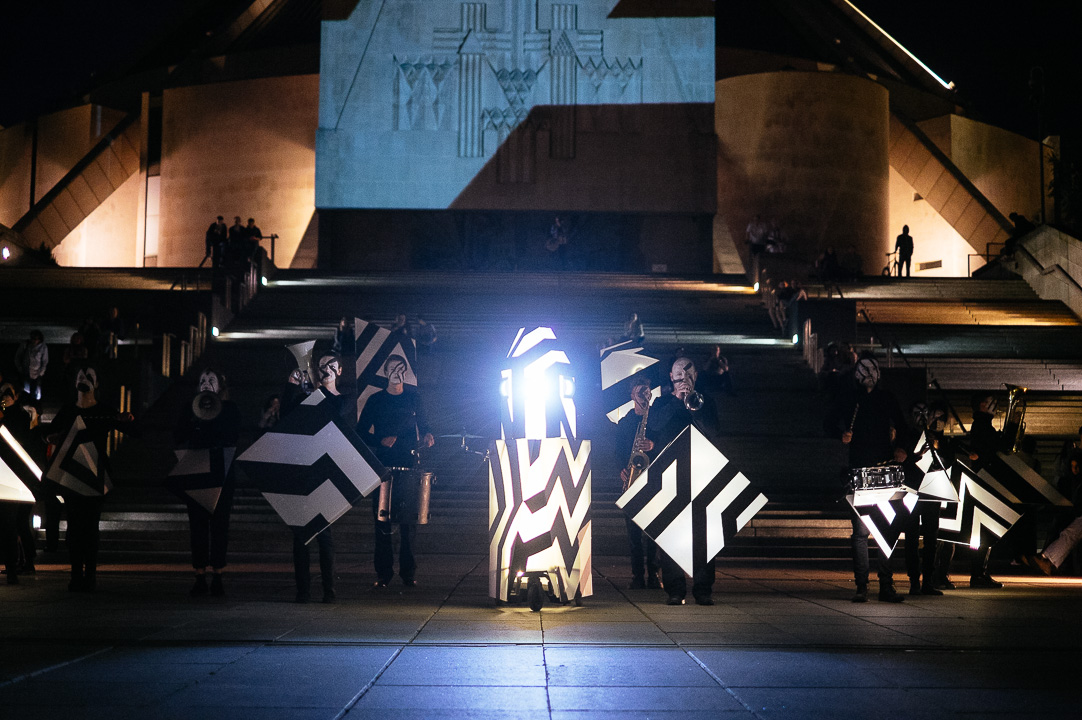 Light Night Liverpool 2014 - Kazimier Sound Battle outside the Metropolitan Cathedral