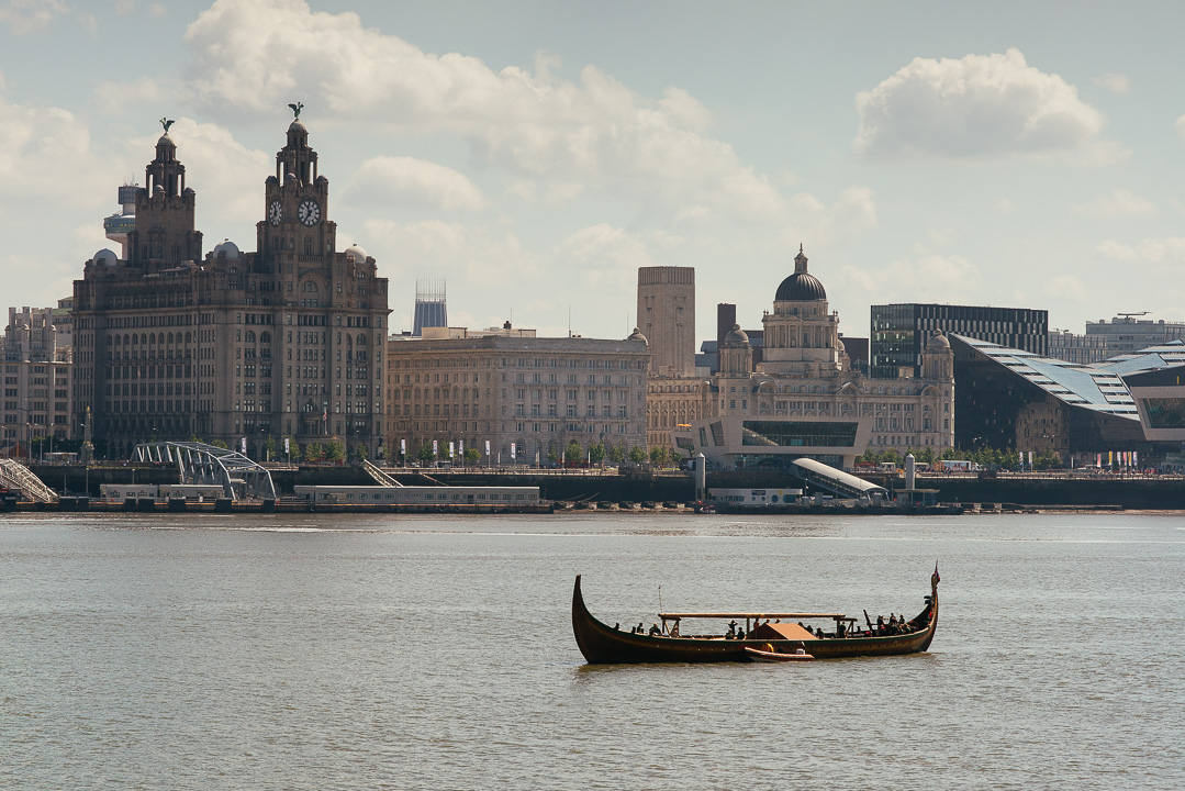 Dragon Harald Fairhair in Liverpool