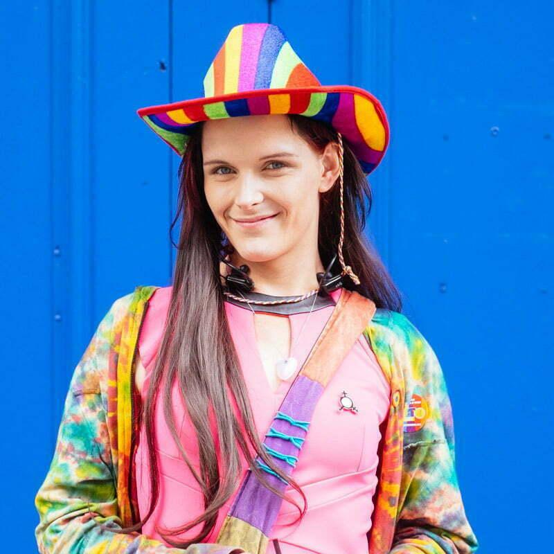 "Steph Jones. ""It's not gay pride. I'ts just pride."""