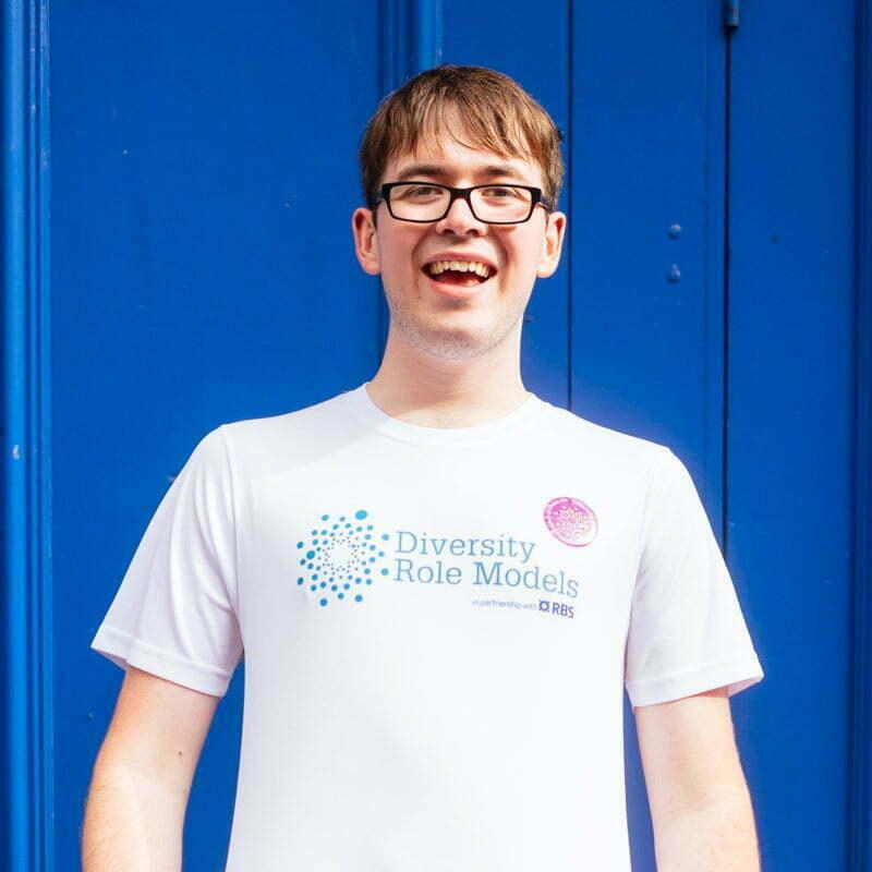 Aaron. Volunteer.
