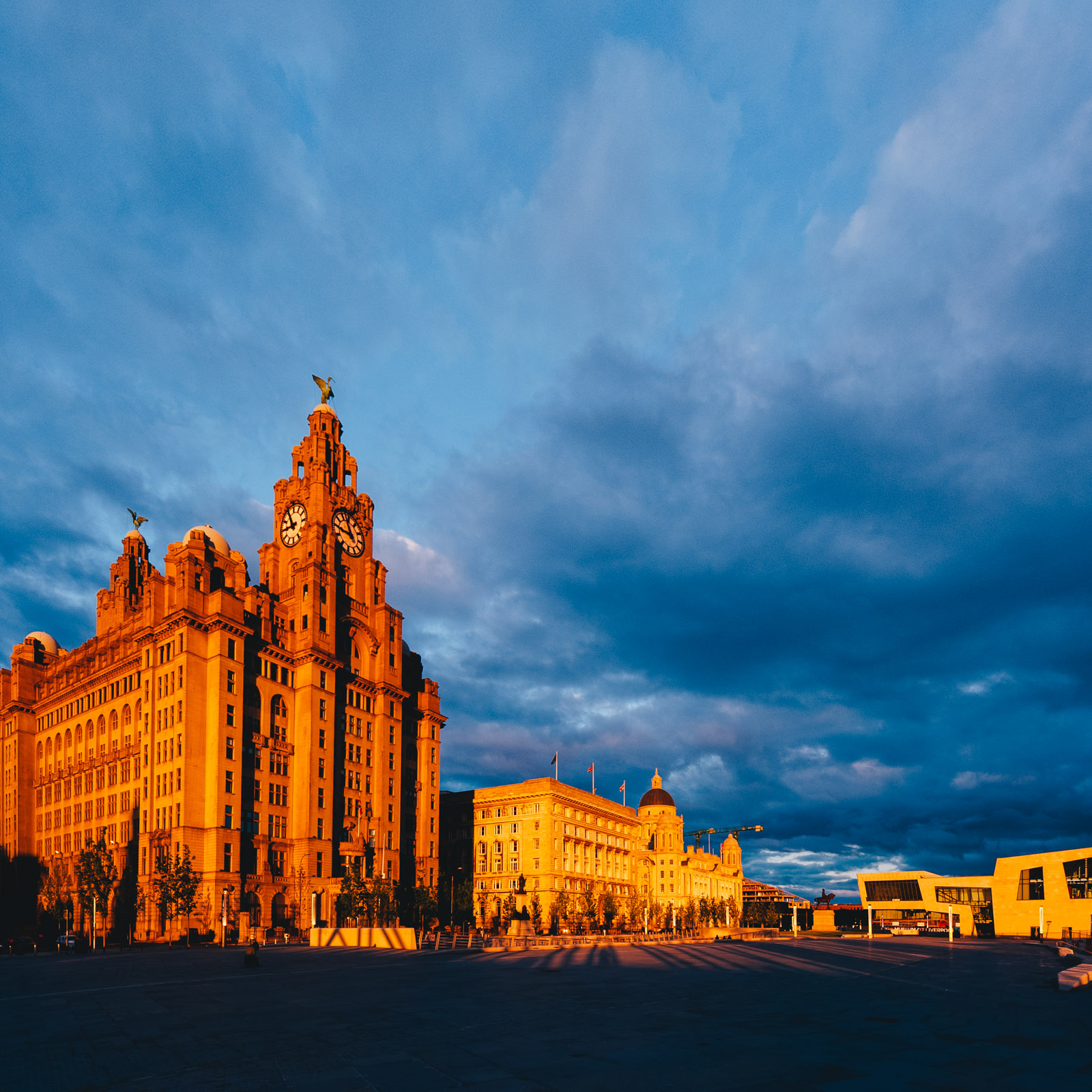 Sunset in Liverpool