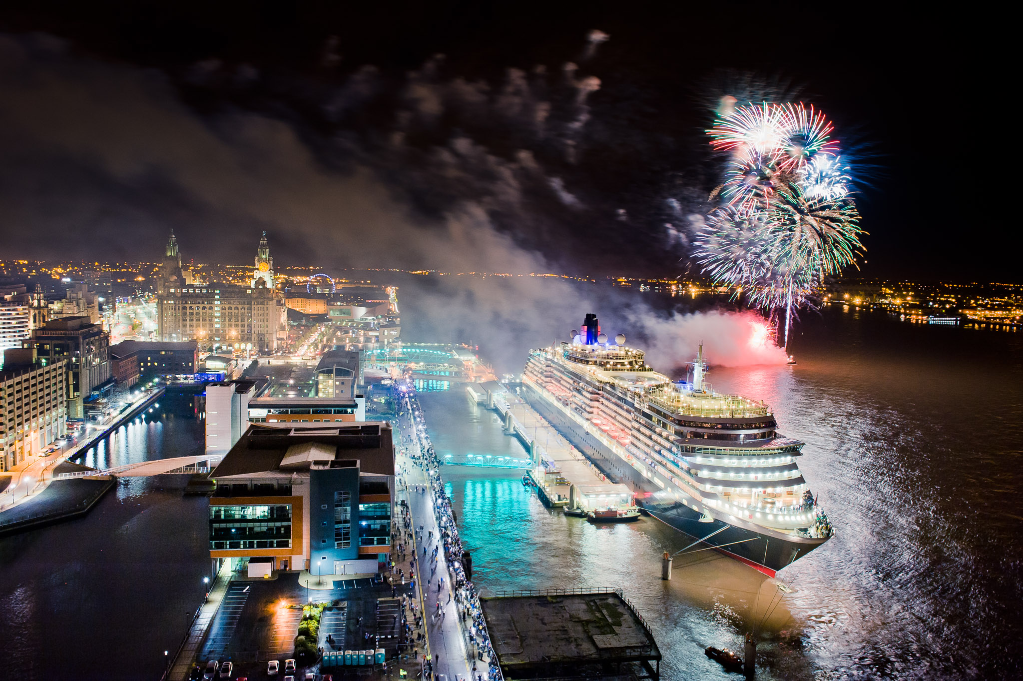 8 years of Cunard liners in Liverpool