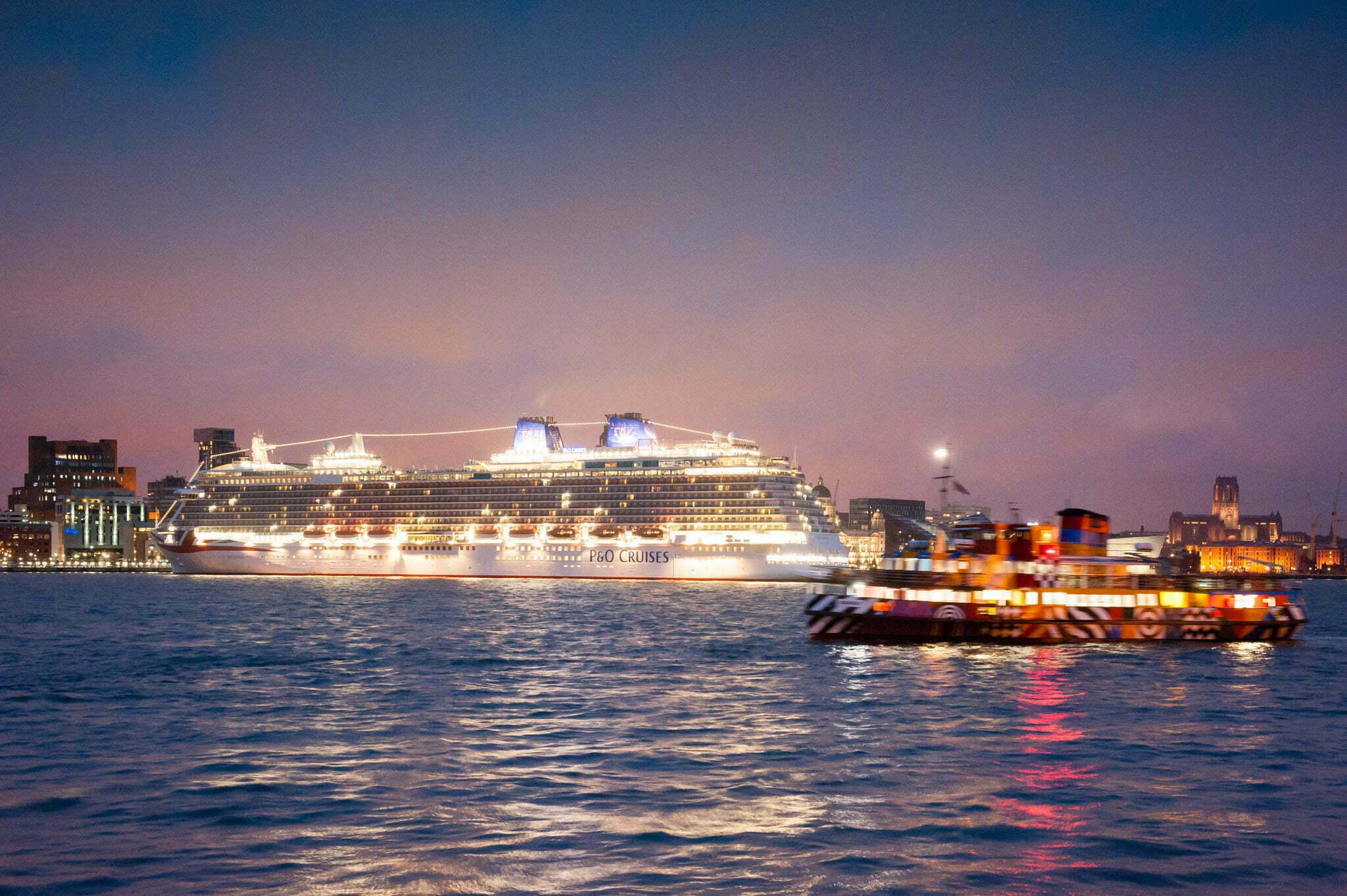 P&O cruise ship Britannia