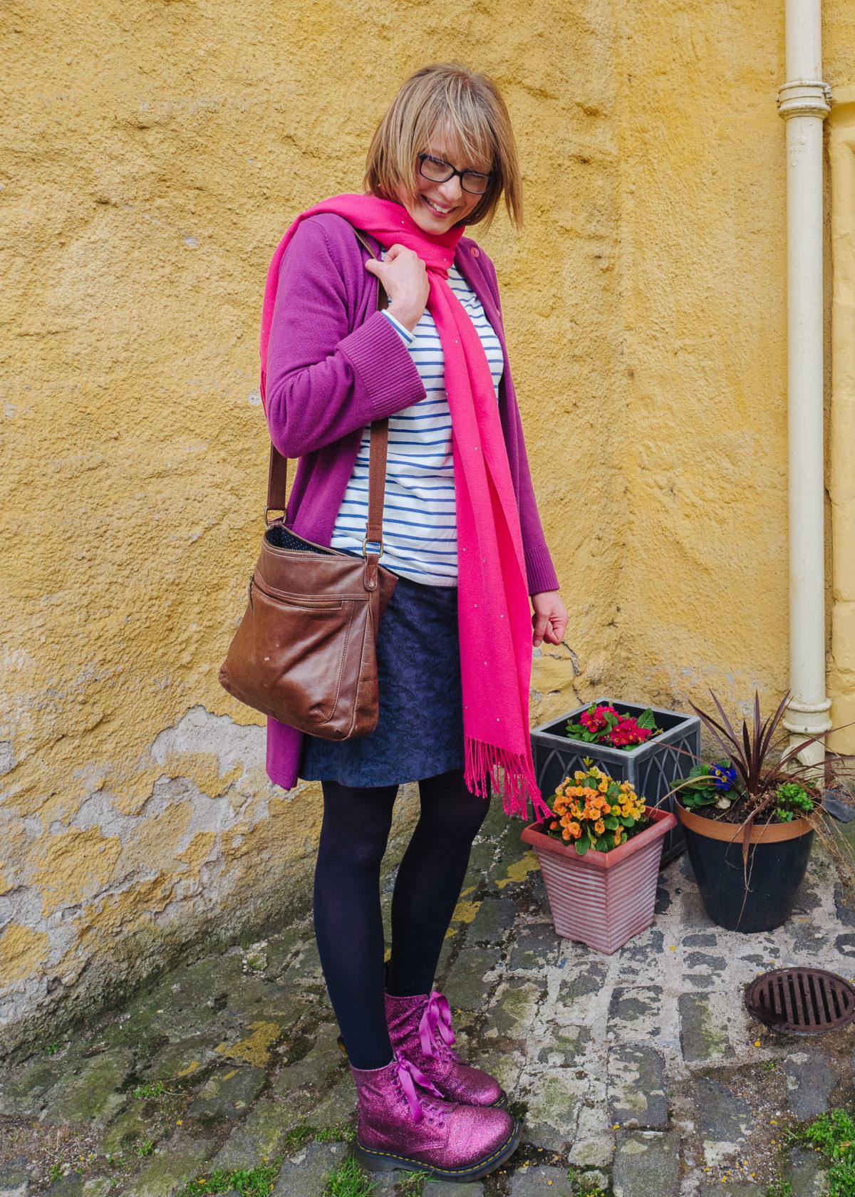 Looking for purple in Edinburgh